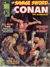 Savage Sword of Conan The Barbarian (The) (1974) -3- Demons of the Summit