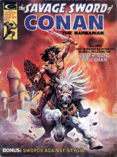 Savage Sword of Conan The Barbarian (The) (1974) -8- Death-Song of Conan