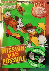 Mickey Parade Géant Hors-série / collector -HS23- Mickey Parade Géant (hors série) - PIA P.I.A. Picsou Intelligence Agency Saison 2 - Mission pas possible - dossier cachés - n°4 (sur 4)