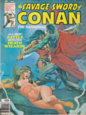 Savage Sword of Conan The Barbarian (The) (1974) -18- Battle with the Death Wizards