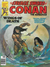 Savage Sword of Conan The Barbarian (The) (1974) -19- Wings of Death