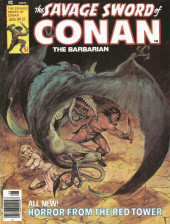 Savage Sword of Conan The Barbarian (The) (1974) -21- Horror from the Red Tower