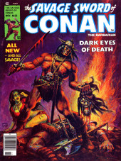 Savage Sword of Conan The Barbarian (The) (1974) -35- Dark eyes of death