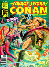 Savage Sword of Conan The Barbarian (The) (1974) -37- The Haunter of the Oasis