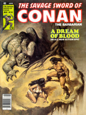 Savage Sword of Conan The Barbarian (The) (1974) -40- A Dream of Blood