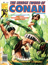 Savage Sword of Conan The Barbarian (The) (1974) -42- The Devil-Trees of Gamburu