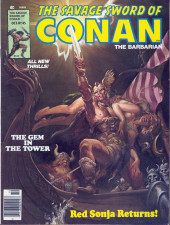 Savage Sword of Conan The Barbarian (The) (1974) -45- The Gem in the Tower