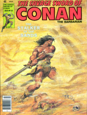 Savage Sword of Conan The Barbarian (The) (1974) -54- The Stalker of the Sands