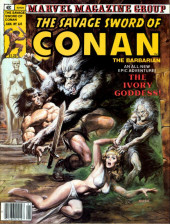 Savage Sword of Conan The Barbarian (The) (1974) -60- The Ivory Goddess!