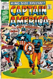 Captain America (Marvel comics - 1968) -AN01- The origin of captain america!