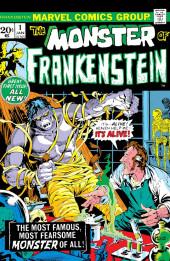 Monster of Frankenstein (The) (Marvel - 1973) -1- It's alive!