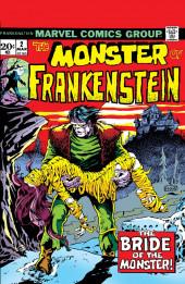 Monster of Frankenstein (The) (Marvel - 1973) -2- The Bride of the Monster!