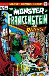 Monster of Frankenstein (The) (Marvel - 1973) -3- Revenge!