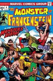 Monster of Frankenstein (The) (Marvel - 1973) -4- Is this..Monster's Death?