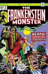 Monster of Frankenstein (The) (Marvel - 1973) -10- Death strikes the Man called Frankenstein!