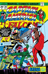 Captain America (Marvel comics - 1968) -189- Arena for a Fallen Hero