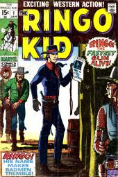 Ringo Kid (The) Vol 2 (Marvel - 1970) -1- Ringo the fasted gun alive!