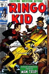 Ringo Kid (The) Vol 2 (Marvel - 1970) -2- Man Trap!