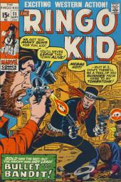 Ringo Kid (The) Vol 2 (Marvel - 1970) -11- Bullet for a Bandit!