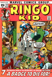 Ringo Kid (The) Vol 2 (Marvel - 1970) -12- A Badge To Die For!