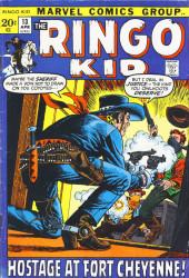 Ringo Kid (The) Vol 2 (Marvel - 1970) -13- Hostage at Fort Cheyenne!