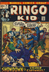 Ringo Kid (The) Vol 2 (Marvel - 1970) -14- Showdown in the Silver Cartwheel!