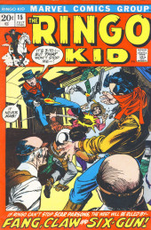 Ringo Kid (The) Vol 2 (Marvel - 1970) -15- Fang, Claw and Six-Gun!