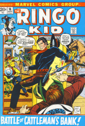 Ringo Kid (The) Vol 2 (Marvel - 1970) -16- Battle of Cattleman's Bank!
