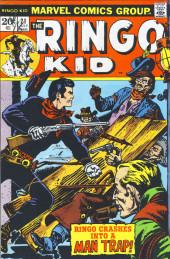 Ringo Kid (The) Vol 2 (Marvel - 1970) -21- Man Trap!