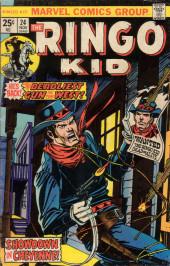 Ringo Kid (The) Vol 2 (Marvel - 1970) -24- Showdown in Cheyenne!