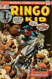 Ringo Kid (The) Vol 2 (Marvel - 1970) -26- The Madman of Thunder Gap!