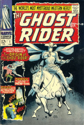 Ghost Rider Vol.1 (Marvel Comics - 1967) -1- The Origin of the Ghost Rider!