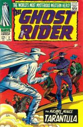 Ghost Rider Vol.1 (Marvel Comics - 1967) -2- The Macabre Menace of the Tarantula!