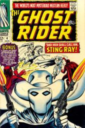 Ghost Rider Vol.1 (Marvel Comics - 1967) -4- And Men Shall Call Him...Stingray!