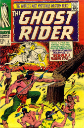 Ghost Rider Vol.1 (Marvel Comics - 1967) -6- Behold.. A Flaming Star!