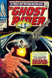 Ghost Rider Vol.1 (Marvel Comics - 1967) -7- The Macabre Mystery of Massacre Mountain!