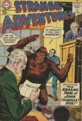 Strange adventures (1950) -100- The Amazing Trial of John (Gorilla) Doe!