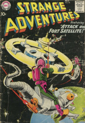 Strange adventures (1950) -98- Attack on Fort Satellite!