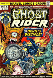 Ghost Rider Vol.2 (Marvel comics - 1973) -8- The Devil's Disciple!