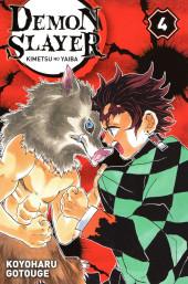 Demon Slayer - Kimetsu no yaiba -4- Tome 4