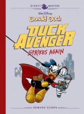Disney Masters (Fantagraphics Books) -8- Donald Duck: Duck Avenger Strikes Again
