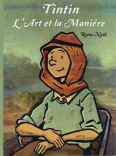 (AUT) Hergé - Tintin - L'Art et la Manière