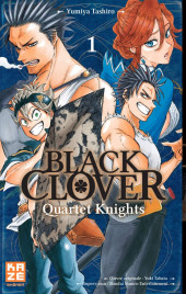 Black Clover - Quartet Knights -1- Tome 1