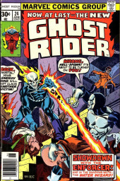 Ghost Rider Vol.2 (Marvel comics - 1973) -24- I, The Enforcer...!