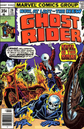 Ghost Rider Vol.2 (Marvel comics - 1973) -28- Evil is the Orb!
