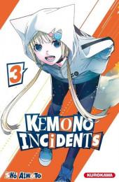 Kemono incidents -3- Tome 3