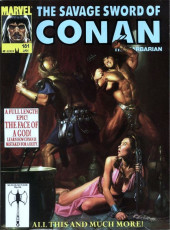 Savage Sword of Conan The Barbarian (The) (1974) -181- A Full Length Epic! The Face of a God!