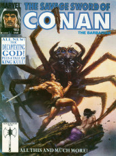 Savage Sword of Conan The Barbarian (The) (1974) -183- All New! The Decapitating God! Plus a tale of King Kull!