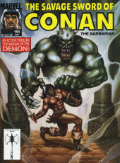 Savage Sword of Conan The Barbarian (The) (1974) -185- An Action Thriller: The Masque of the Demon!