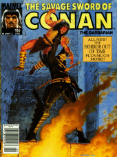Savage Sword of Conan The Barbarian (The) (1974) -186- All New! The Horror Out of Time!